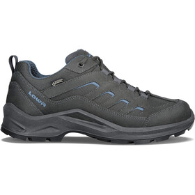 Lowa Sesto GTX Low Shoes Men anthracite/blue